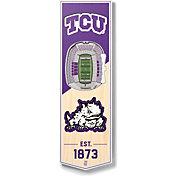 "You The Fan TCU Horned Frogs 6""x19"" 3-D Banner"