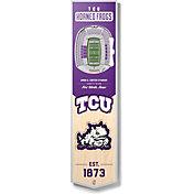 "You The Fan TCU Horned Frogs 8""x32"" 3-D Banner"