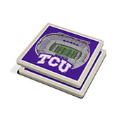 You the Fan TCU Horned Frogs Stadium View Coaster Set