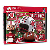 You The Fan Utah Utes Retro Series 500-Piece Puzzle