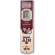 "You The Fan Texas A&M Aggies 8""x32"" 3-D Banner"