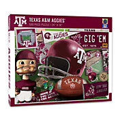 You The Fan Texas A&M Aggies Retro Series 500-Piece Puzzle
