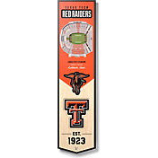 """You The Fan Texas Tech Red Raiders 8""""x32"""" 3-D Banner"""