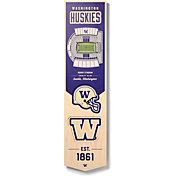 """You The Fan Washington Huskies 8""""x32"""" 3-D Banner"""