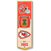 You The Fan Kansas City Chiefs 6''x19'' 3-D Banner