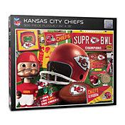 You The Fan Kansas City Chiefs Retro Series 500-Piece Puzzle