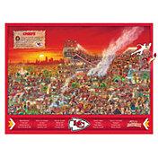 You The Fan Kansas City Chiefs Wooden Puzzle