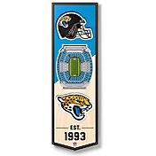 You The Fan Jacksonville Jaguars 6''x19'' 3-D Banner