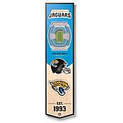 You The Fan Jacksonville Jaguars 8''x32'' 3-D Banner
