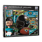 You The Fan Jacksonville Jaguars Retro Series 500-Piece Puzzle