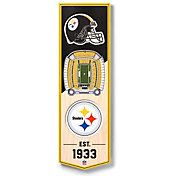 You The Fan Pittsburgh Steelers 6''x19'' 3-D Banner