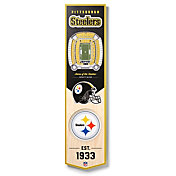 You The Fan Pittsburgh Steelers 8''x32'' 3-D Banner