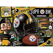 You The Fan Pittsburgh Steelers Wooden Puzzle