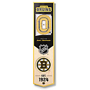 You The Fan Boston Bruins 8''x32'' 3-D Banner