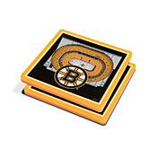 You the Fan Boston Bruins Stadium View Coaster Set