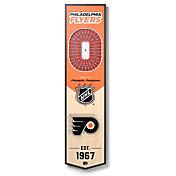 You The Fan Philadelphia Flyers 8''x32'' 3-D Banner