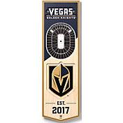You The Fan Vegas Golden Knights 6''x19'' 3-D Banner