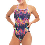 Dolfin Women's Uglies City Lights Print One Piece Swimsuit