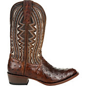 Durango Men's Oiled Saddle Ostrich Western Boots