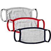 DICK'S Sporting Goods Youth Double Ply Face Mask – 3 Pack
