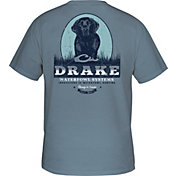 Drake Waterfowl Men's Black Lab Portrait T-Shirt