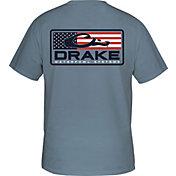 Drake Waterfowl Men's Patriotic Bar Short Sleeve T-shirt