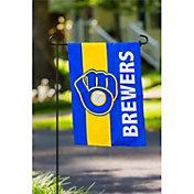 Evergreen Milwaukee Brewers Embellish Garden Flag