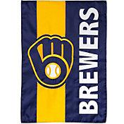Evergreen Milwaukee Brewers Embellish House Flag