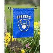 Evergreen Milwaukee Brewers Applique Garden Flag