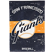 Evergreen San Francisco Giants Vintage House Flag