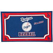 Evergreen Los Angeles Dodgers Embossed Door Mat