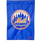 Evergreen New York Mets Applique Garden Flag