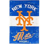Evergreen New York Mets Vintage House Flag