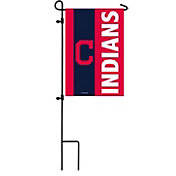 Evergreen Cleveland Indians Embellish Garden Flag