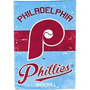 Evergreen Philadelphia Phillies Vintage Garden Flag