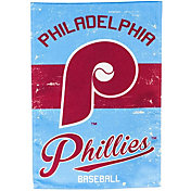Evergreen Philadelphia Phillies Vintage House Flag