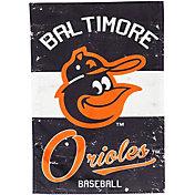 Evergreen Baltimore Orioles Vintage House Flag