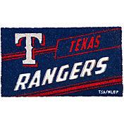 Evergreen Texas Rangers Coir Punch Mat
