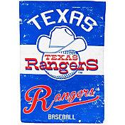 Evergreen Texas Rangers Vintage House Flag