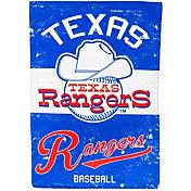Evergreen Texas Rangers Vintage Garden Flag
