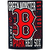 Evergreen Boston Red Sox Fan Rule House Flag