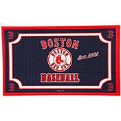 Evergreen Boston Red Sox Embossed Door Mat