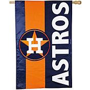 Evergreen Houston Astros Embellish House Flag