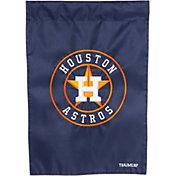 Evergreen Houston Astros Applique Garden Flag