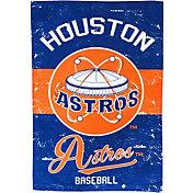 Evergreen Houston Astros Vintage Garden Flag