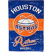 Evergreen Houston Astros Vintage House Flag