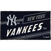 Evergreen New York Yankees Coir Punch Mat
