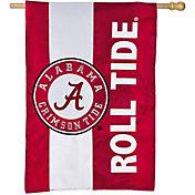 Evergreen Alabama Crimson Tide Embellish House Flag