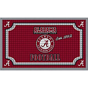 Evergreen Alabama Crimson Tide Embossed Door Mat