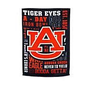 Evergreen Auburn Tigers Fan Rule House Flag